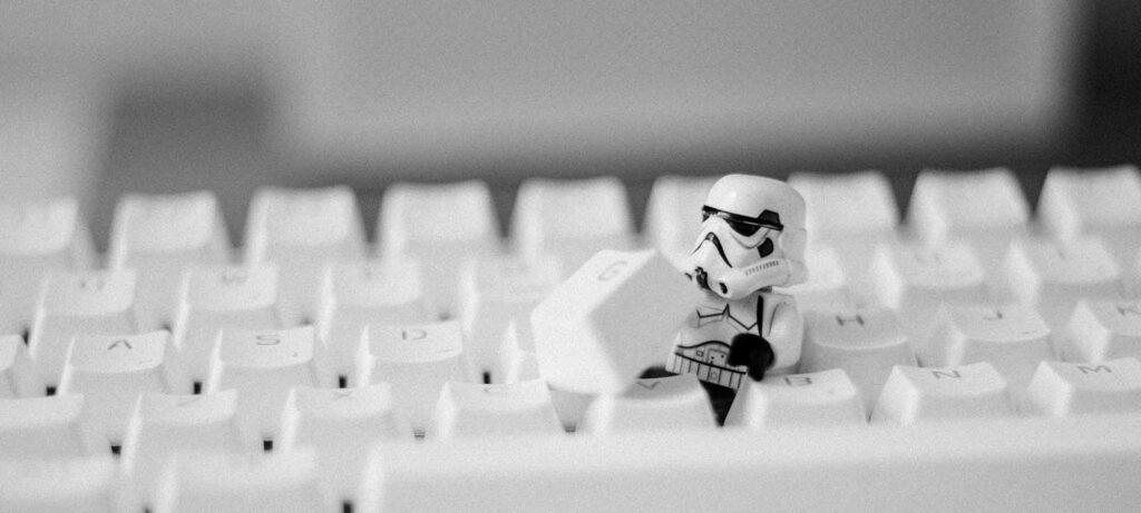 Trooper in keyboard