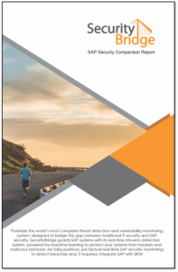 SAP Security Comparison Report