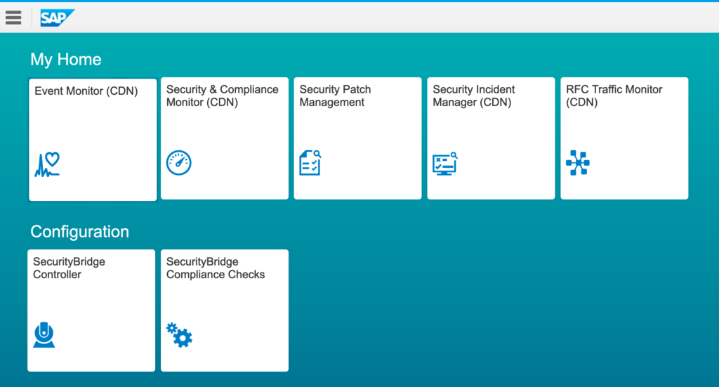 SecurityBridge Fiori Apps