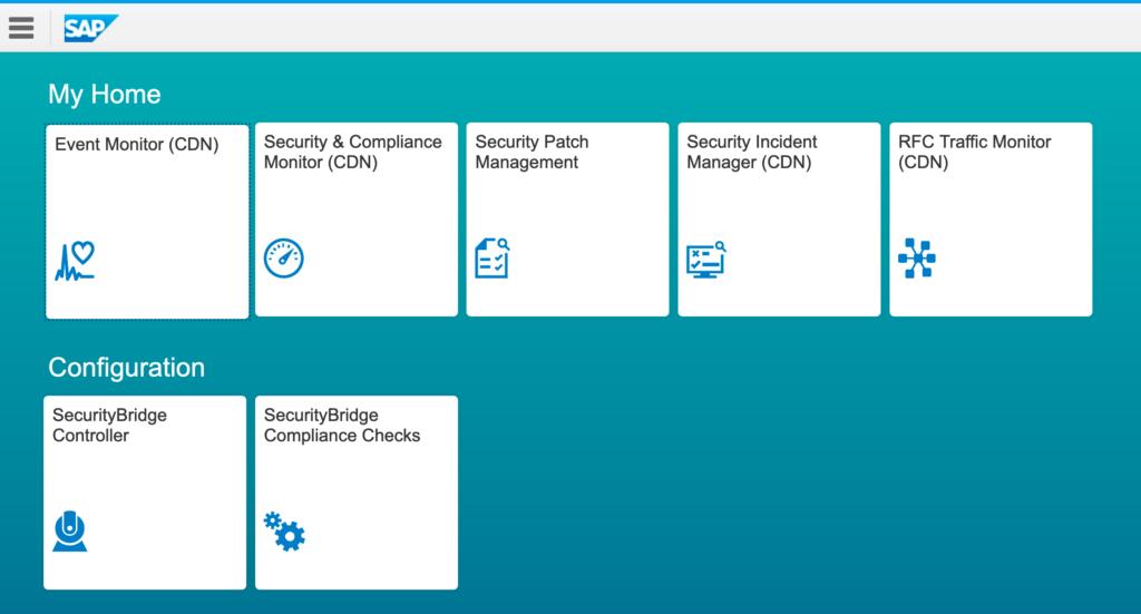 SecurityBridge Fiori Apps