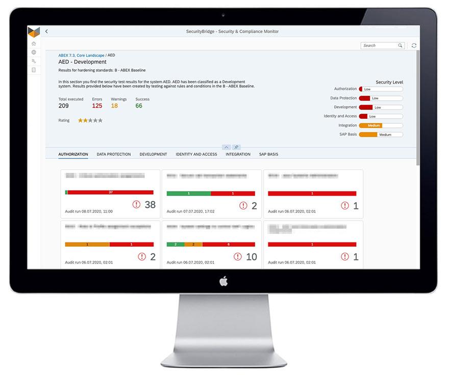 SecurityBridge vulnerability managemen