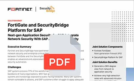 solution brief fortinet securitybridge